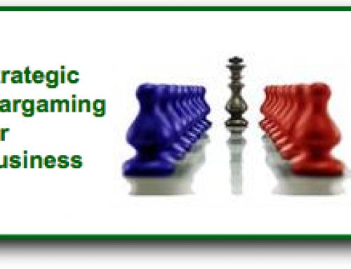 Wargaming: Mitigate Corporate Risk –Test Strategic Business Planning