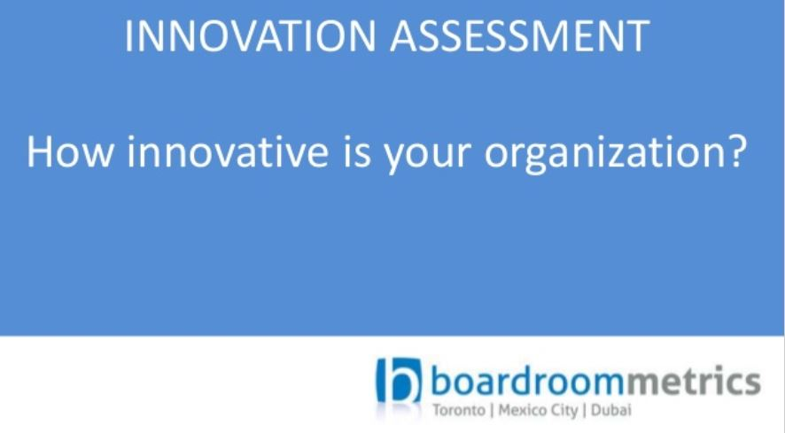 Corporate Innovation Assessment Questionnaire