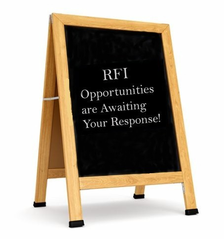 What's Up with RFI's and Request for Information Tenders?