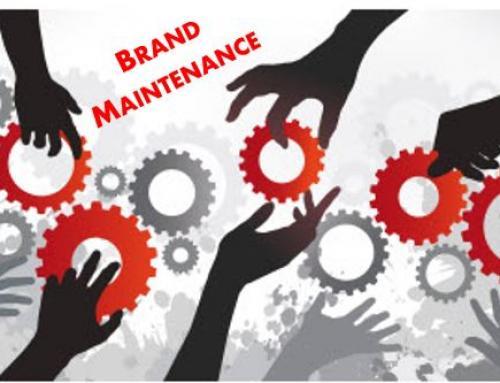 Brand Maintenance