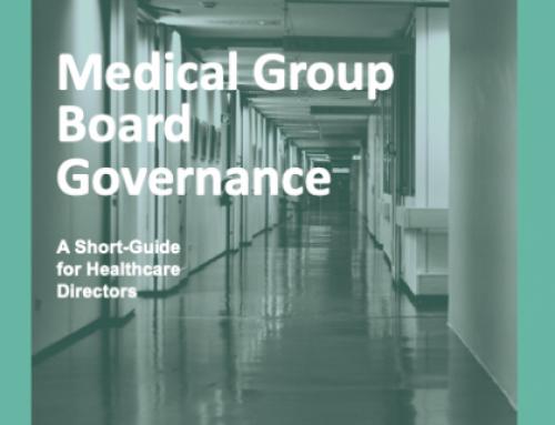 Medical Group Board Governance eBook